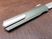 Microtech Cypher D/E Standard Stonewash 242S-10OD OD Green