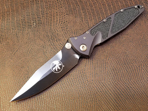 Microtech Socom Elite Manual Spearpoint Black DLC Bronze 160-1DLCS
