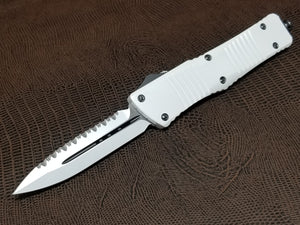 Microtech Combat Troodon D/E Full Serrated STORM TROOPER 142-3ST