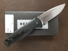 Benchmade CLA Drop Point Automatic Knife Satin G-10 4300