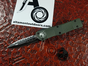 Microtech Combat Troodon D/E Full Serrated OD Green 142-3OD