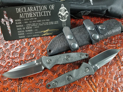 Marfione Custom Mini Socom Alpha Fixed Blade