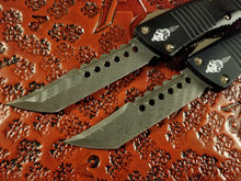 Microtech Troodon Hellhound OTF Damascus 619-16