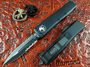 Microtech UTX-85 D/E Black Tactical P/S 232-2T