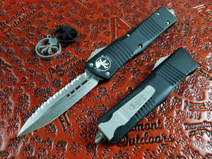Microtech Combat Troodon D/E Full Serrated Stonewash 142-12