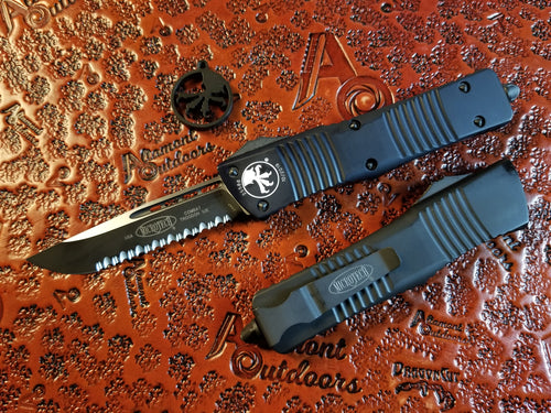 Microtech Combat Troodon S/E Tactical F/S Full Serrated 143-3T