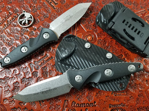 Microtech Mini Socom Alpha Tanto 114M-10 Fixed Blade