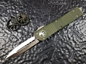 Microtech Combat Troodon D/E Satin OD Green 142-4OD