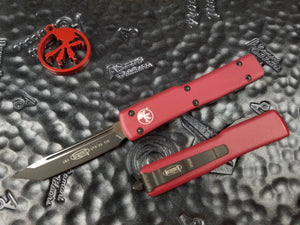 Microtech UTX-70 Tanto Red 149-1RD OTF T/E