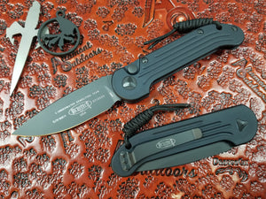 Microtech LUDT black tactical standard 135-1T