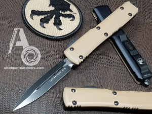 Microtech Ultratech G10 Tan Top D/E 122-1GTTA