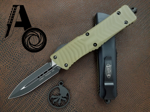 Microtech Combat Troodon Standard D/E 142-1GTOD OD Green G10