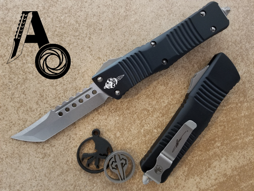 Microtech Combat Troodon HELLHOUND Stonewashed 219-10