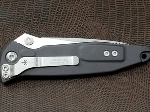 Marfione Custom Socom Elite Tanto Stonewash Copper Eggshell Inlay