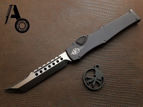 Microtech Halo 6 VI Hellhound Tactical DLC 519-1DLCT