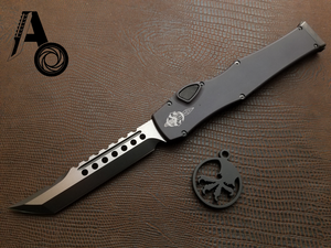"Microtech Halo 6 VI Hellhound Tactical DLC 519-1DLCT ""Signature Series"""
