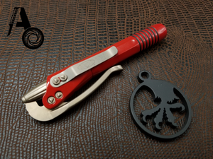 Microtech Siphon II Pen Red