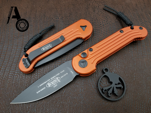 Microtech LUDT Orange Standard 135-1OR