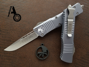 Microtech Combat Troodon S/E Grey Satin Standard 143-4GY