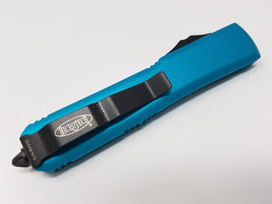 Ultratech D/E Turquoise Partial Serrated