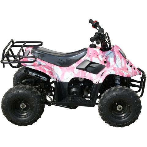 Premium 110cc Mid-Size Quad ATV Four-Wheeler - FULLY AUTOMATIC