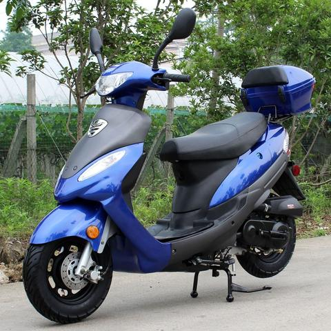 2018 Premium DongFang 50cc Moped Scooter DF50STC-B – Street Legal