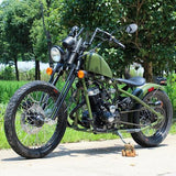 DISCONTINUED - 2017 250cc Antique Bobber Street Legal Mini Chopper Motorcycle DF250RTA