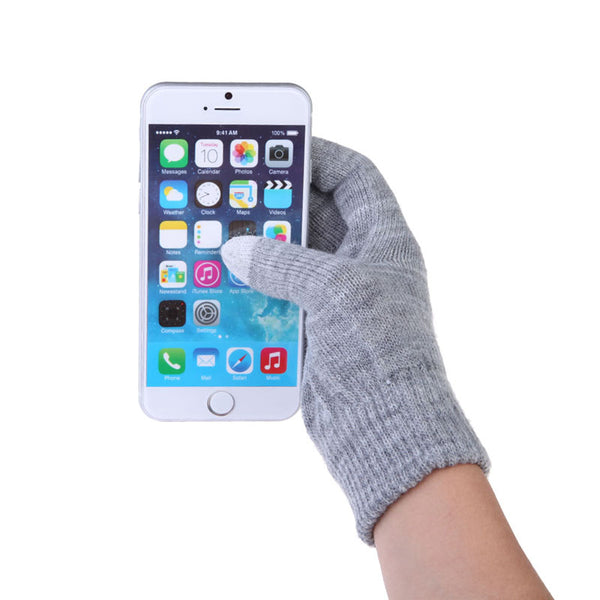 Touch Screen Gloves Colorful & Soft Cotton Winter Gloves