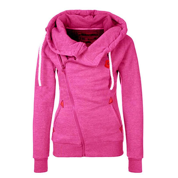 Solid Women Hoodies