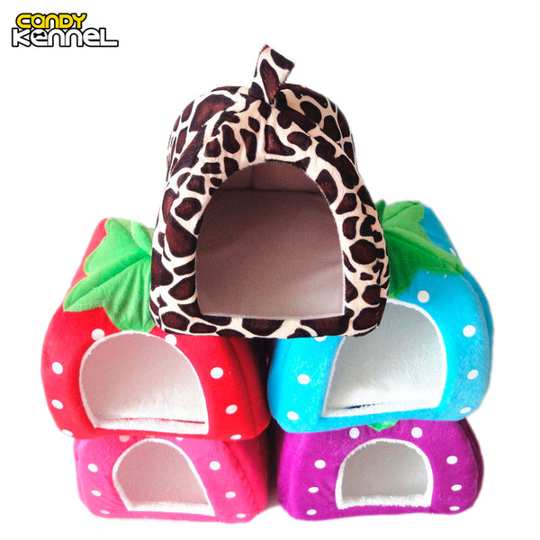 Foldable Cat Dog Kennel Warm House