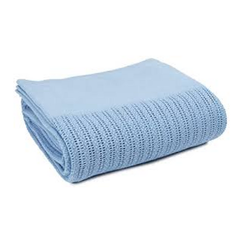 Blue Hospital Thermal Blanket for Spas, Clinics & Health Care Settings