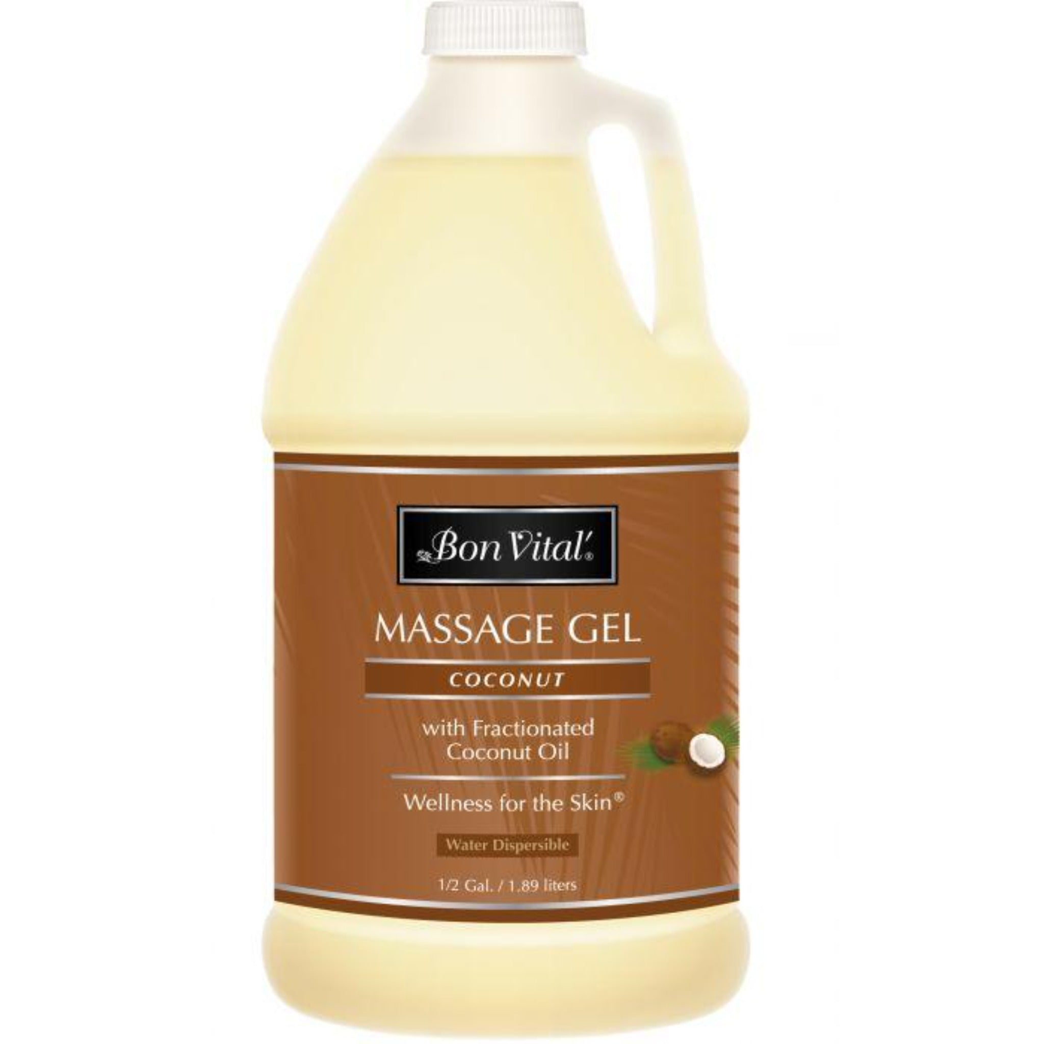 Bon Vital Massage Gel - Coconut - Paraben Free