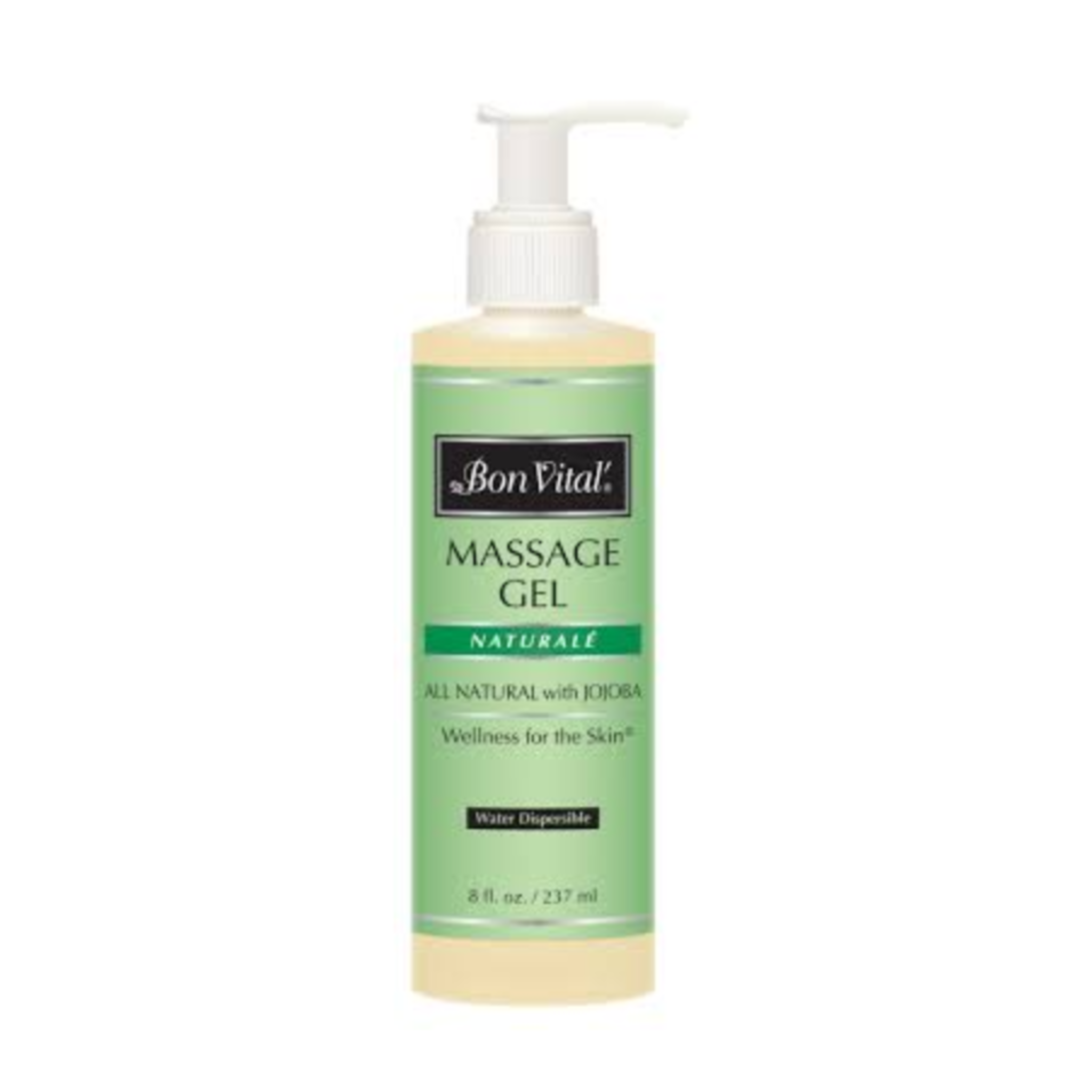 Bon Vital Massage Gel - Natural - Paraben Free