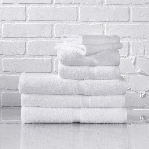 Crown Touch 1888 Mills White 100% Cotton Bath Towel