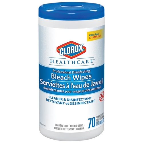 Clorox Healthcare Disinfecting Bleach Wipes