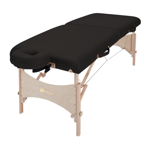 EarthLite Harmony DX Massage Table in Black