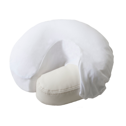 EarthLite Microfiber Face Rest Face Cradle Cover White
