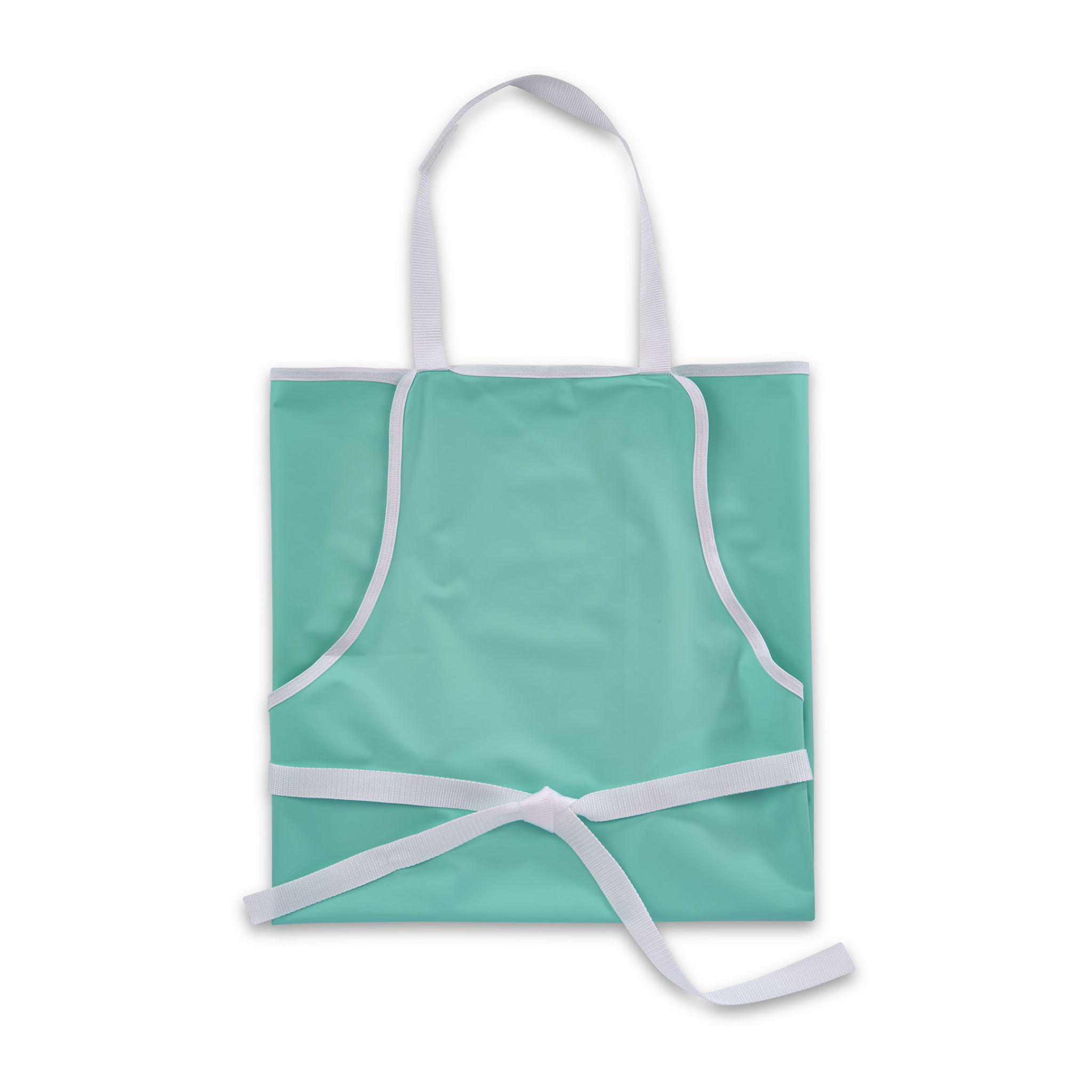 "Vinyl Apron 30"" x 36"" with bias and velcro"