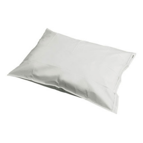 Vinyl Pillow Case Protector with Zippered Closure
