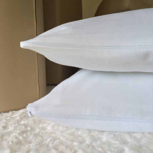 White Polycotton Pillow Protector