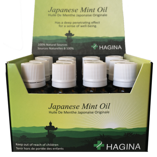 HAGINA Japanese Mint Oil ~ 12x20 ml