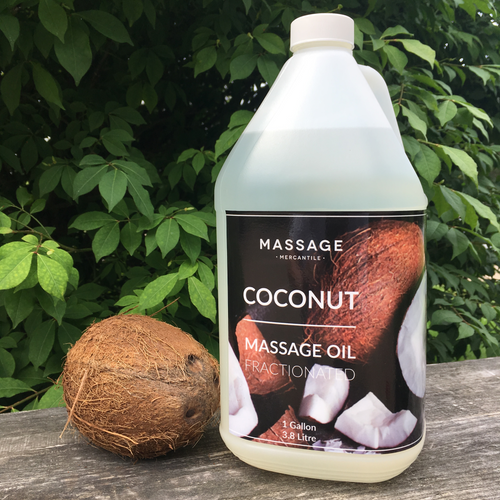 Massage Mercantile Coconut Massage Oil
