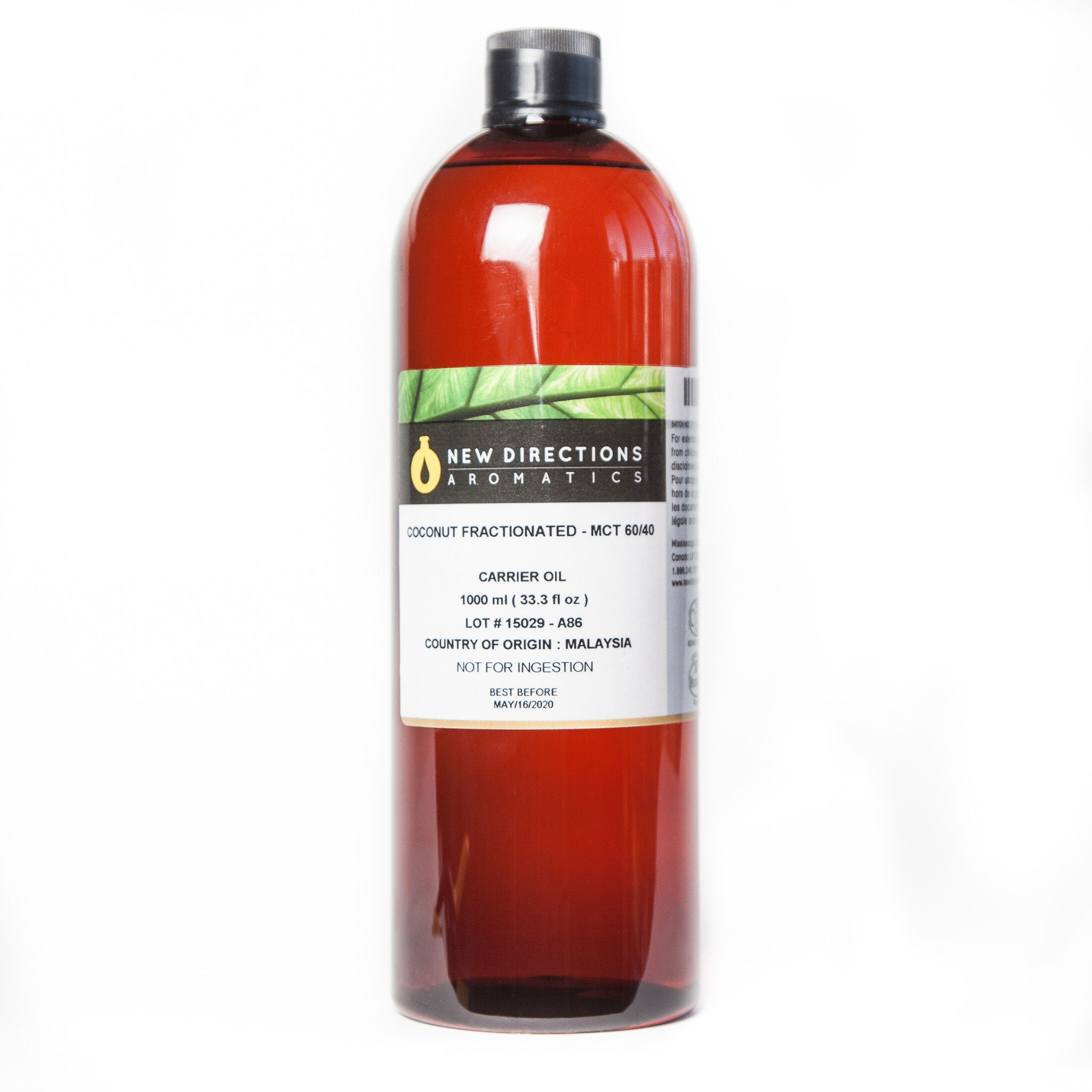 Fractionated Pure Coconut Oil