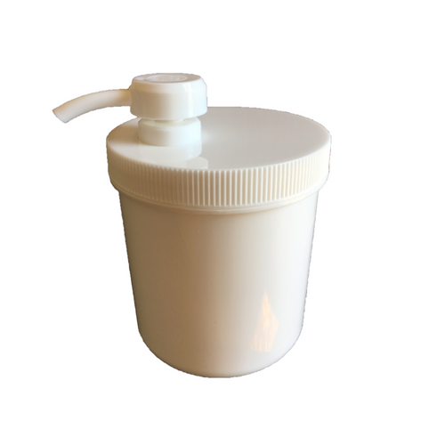 Plastic Cream Jar with Pump