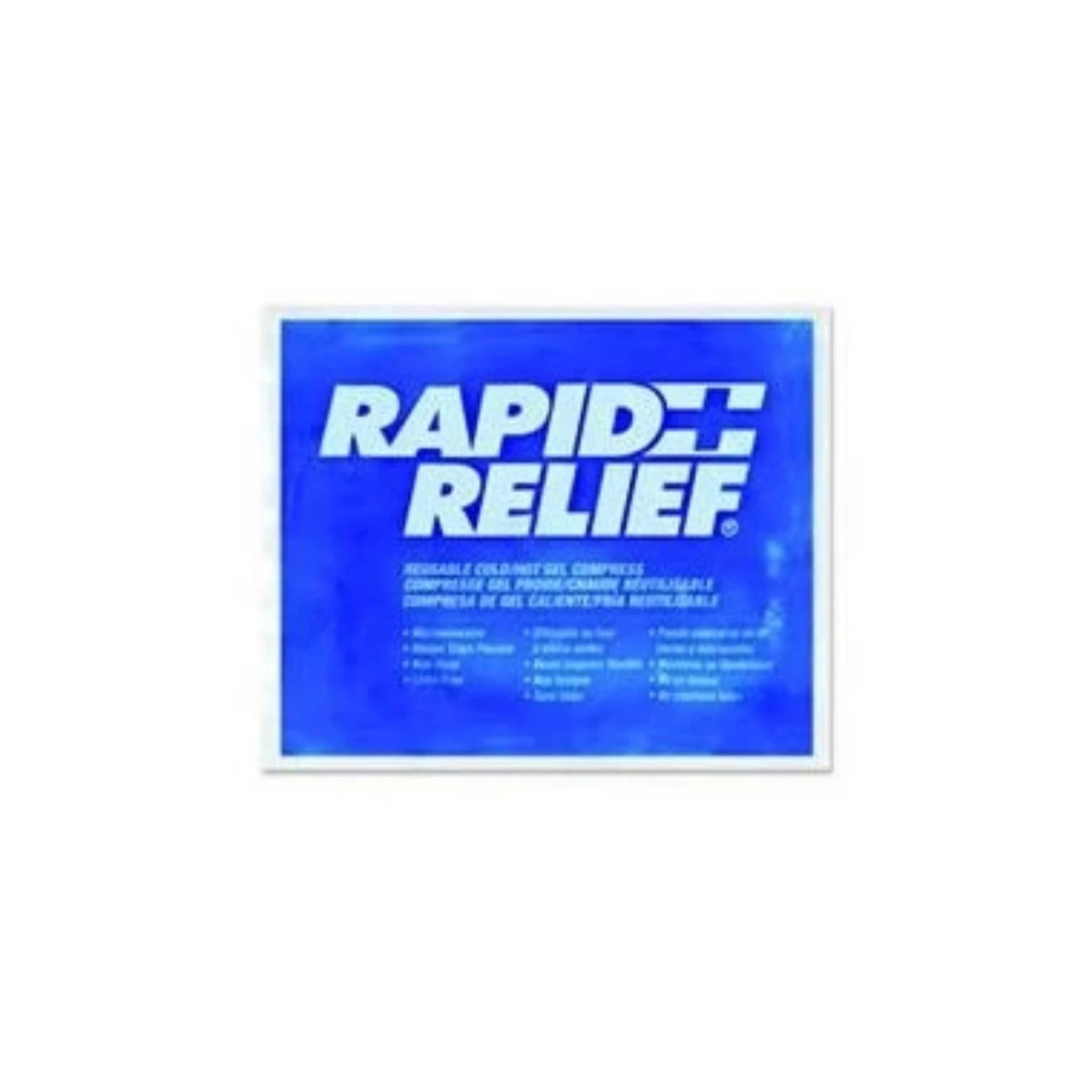 RAPID RELIEF Flexible Reusable Hot Cold Compress
