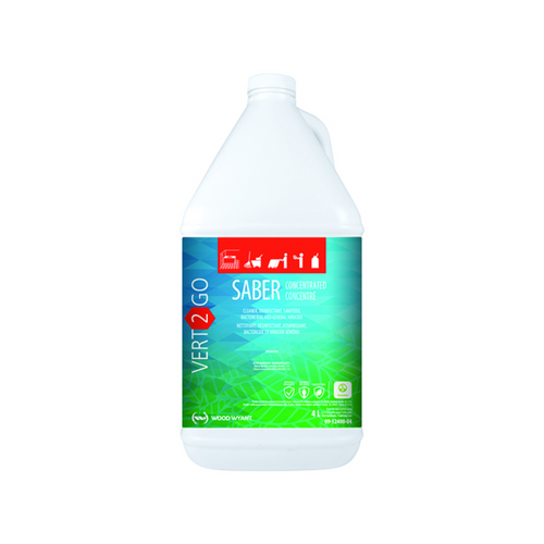 Saber Vert2Go Concentrate Hard Surface Disinfectant