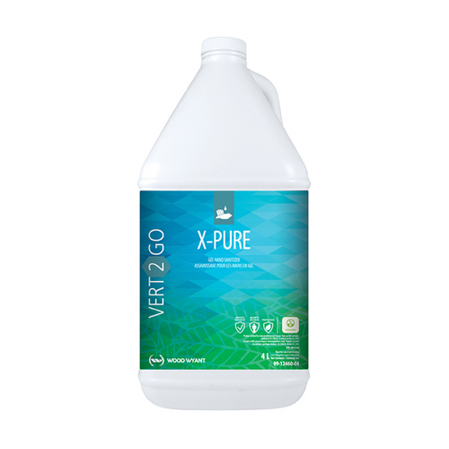 Vert2Go X-Pure Gel Hand Sanitizing Gel Gov't of Canada Covid Approved