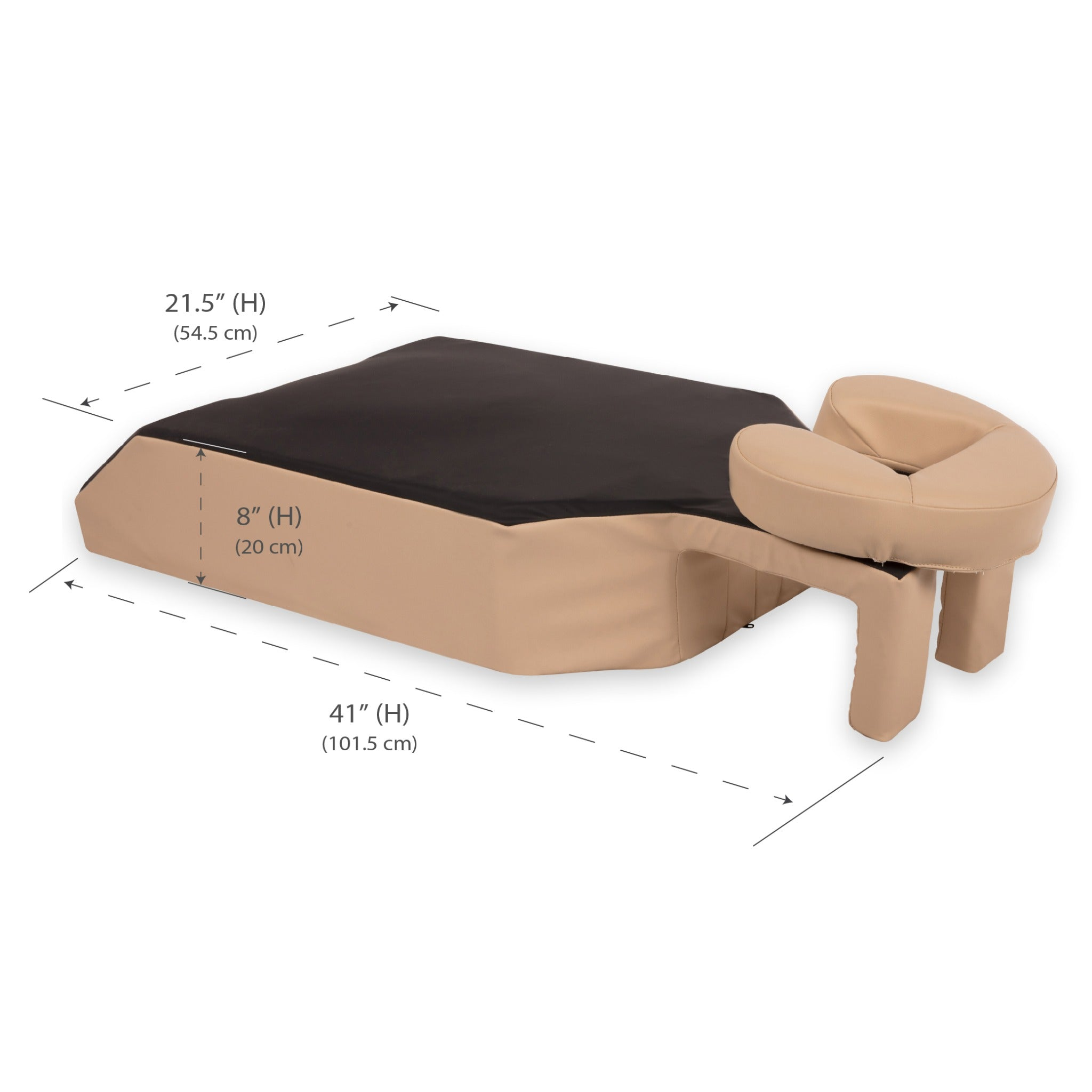 EarthLite Prone Comfort™ Bolster & Headrest - Proning Pillow