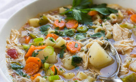 Chicken Ditalini Soup