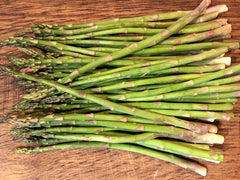 Fresh Asparagus ready to be cut